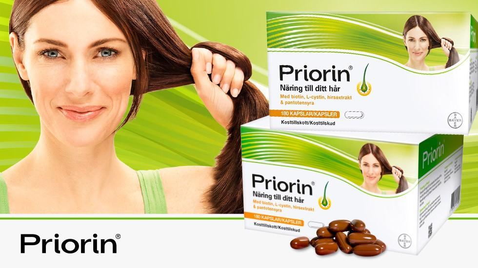 priorin hår på kroppen