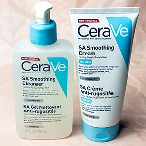 CeraVe SA Smoothing Cream & Cleanser image 1