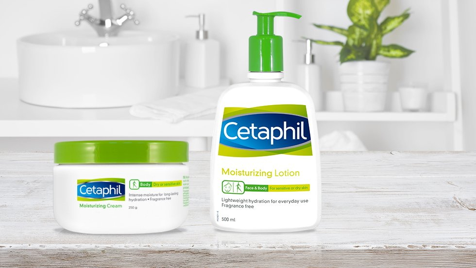 Cetaphil Moisturizing Cream & Lotion