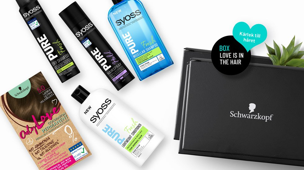 Love is in the hair Box from Schwarzkopf