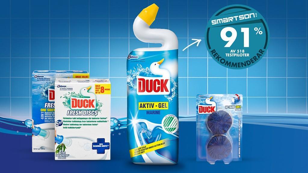 Duck Total toilet