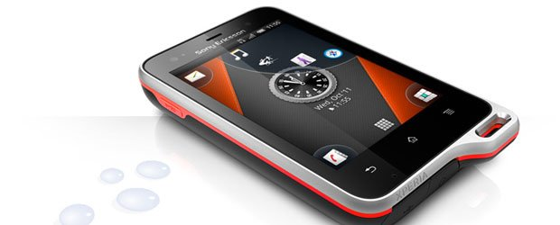 Notis - Sony Ericsson Xperia active