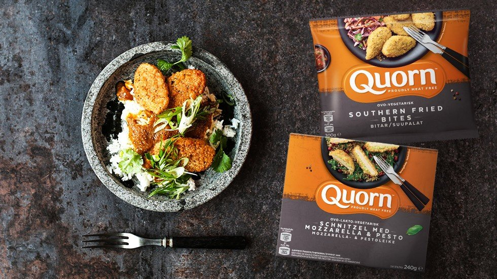 Quorn Schnitzel & Southern Fried Bites
