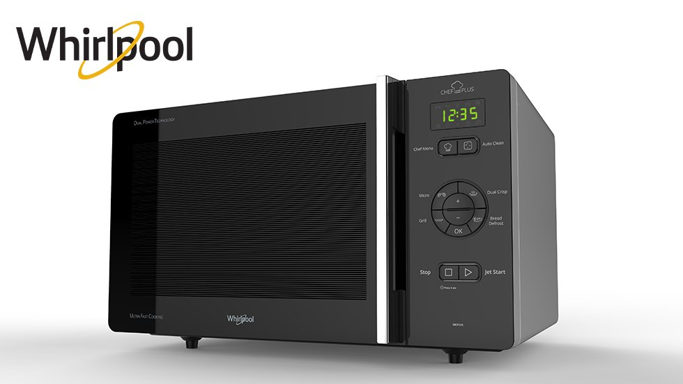 Whirlpool Mikrovågsugn Chef Plus
