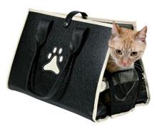 transportbur katt rusta